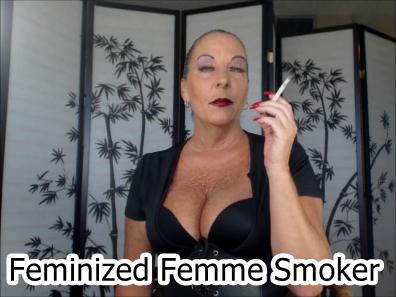 femme smoker